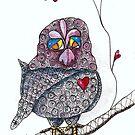 Treetop Love Bernadette by Eliza Fayle