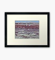 The Painted Desert Framed Print