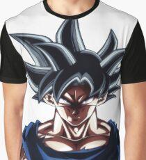 Goku Ultra Instinct Face Graphic T-Shirt