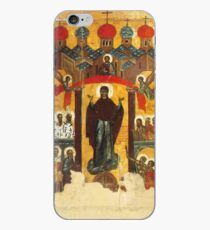 Old Russian icon The Intercession iPhone Case