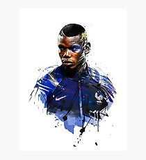 pogba Photographic Print