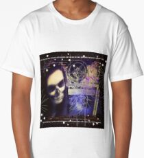 Death looking through dimensional window Long T-Shirt