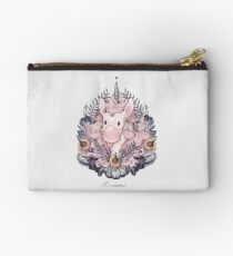 A Majestic Apricot Unicorn Studio Pouch