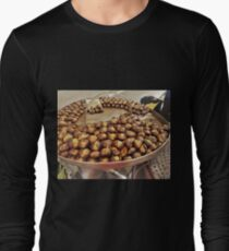 Roasted Chestnuts.....................Rome Long Sleeve T-Shirt