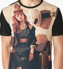 Gorgeous Lisa Black Pink Graphic T-Shirt