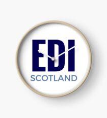 EDI - Scotland  Clock