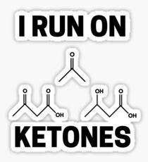 Ketones Sticker