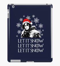 Let it snow - Christmas  iPad Case/Skin