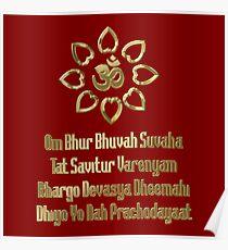 Gayatri mantra Poster
