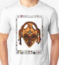 African Mask Camiseta unisex