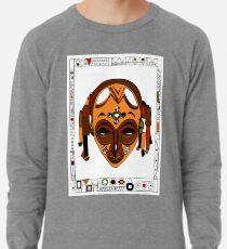African Mask Sudadera ligera
