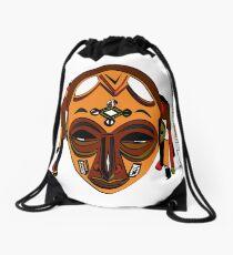 African Mask Mochila de cuerdas