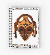 African Mask Cuaderno de espiral