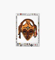 African Mask Lámina de exposición