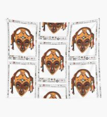 African Mask Tela decorativa