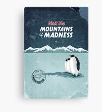 Visit the Mountains of Madness Canvas Print