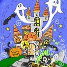 Halloween castle by kulawiecka