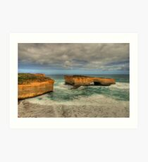 London Bridge - Great Ocean Road - Australia Art Print