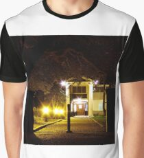 Night Mansion Graphic T-Shirt