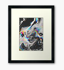 CONFUSION IN HER EYES THAT SAYS IT ALL Framed Print