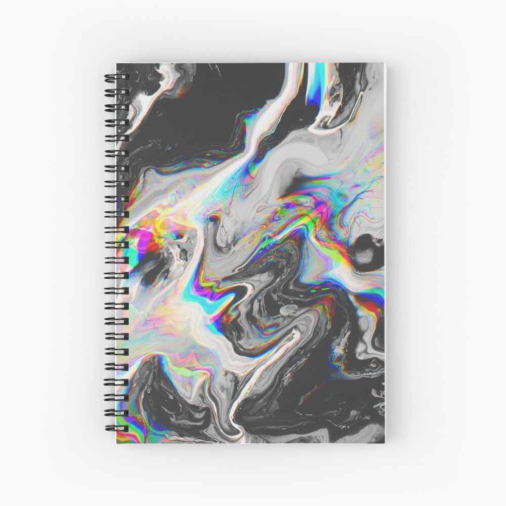 CONFUSION IN HER EYES THAT SAYS IT ALL Spiral Notebook