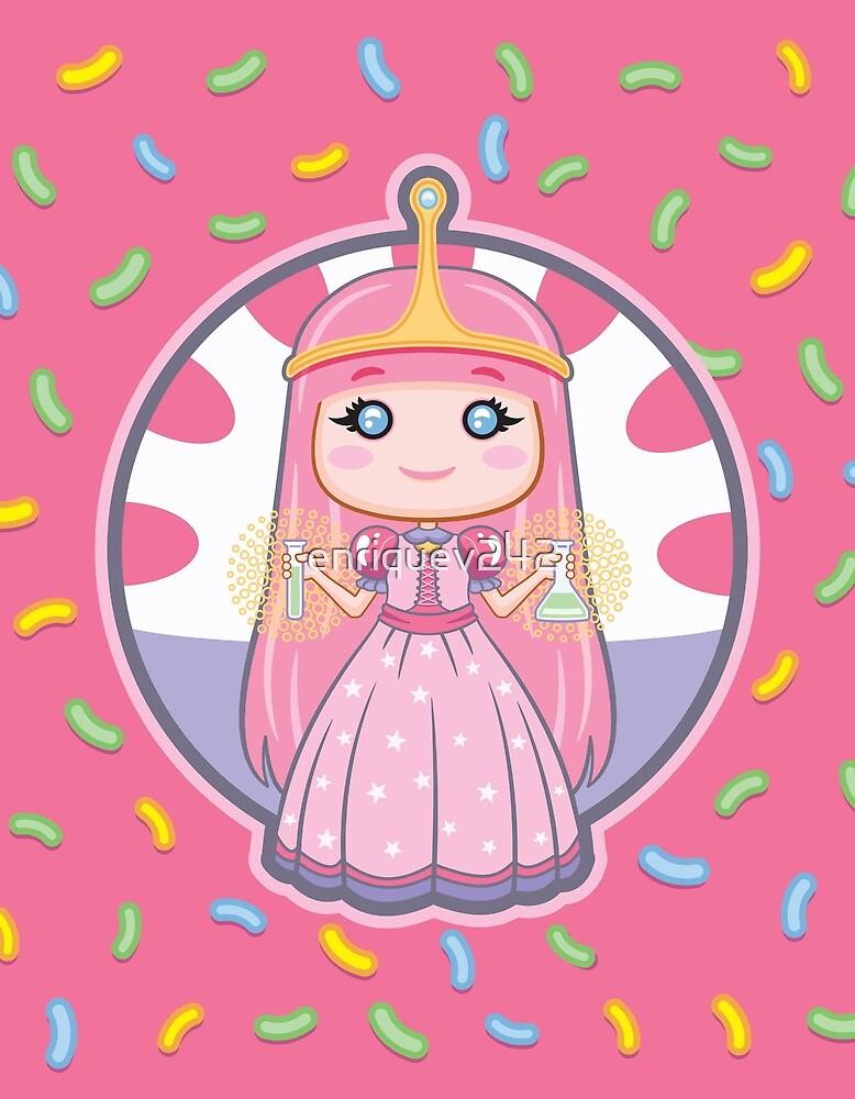 Chibi Princess Bubblegum by enriquev242