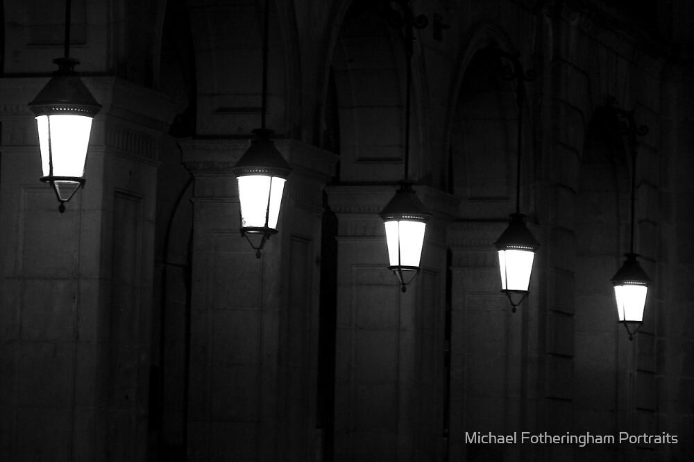 Receding lights by Michael Fotheringham Portraits