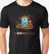 Camiseta ajustada Golang - En Go confiamos