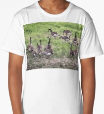 Canadian Geese Long T-Shirt