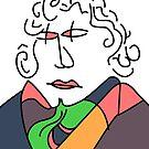 Ludwig van Beethoven by annimo