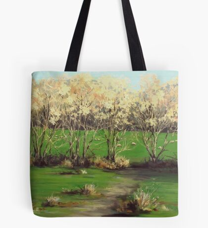 Winter Greens Tote Bag