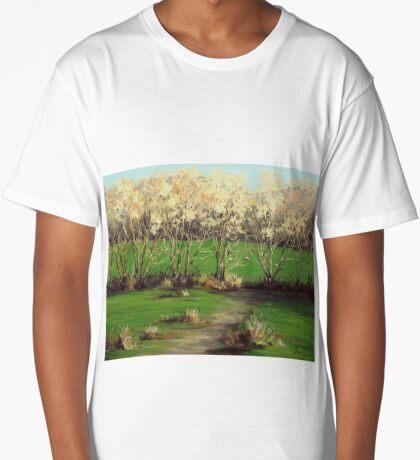 Winter Greens Long T-Shirt