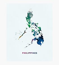 Philippines Photographic Print
