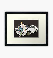 Bubble Tea and Classic JDM Framed Print
