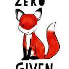 Zero Fox Given by annimo