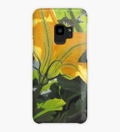 Squash Blossom Case/Skin for Samsung Galaxy