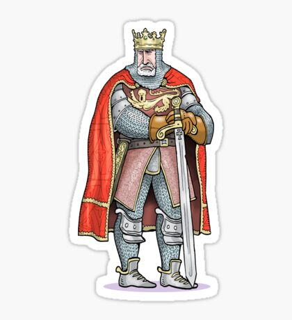 King Edward I Sticker