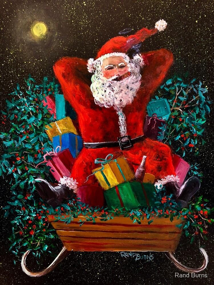 Cigar Santa by Randy Burns