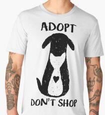 Adopt don't shop Men's Premium T-Shirt
