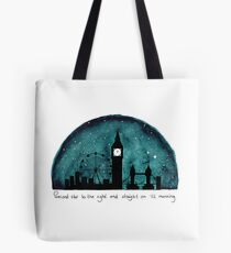 The Road to Neverland Tote Bag