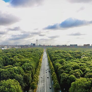 Berlin In The Morning by BackpackPhoto