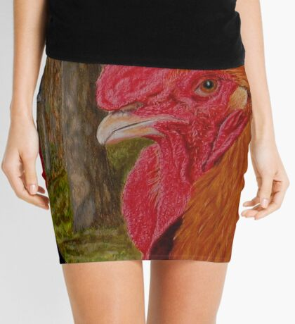 Roosters Mini Skirt