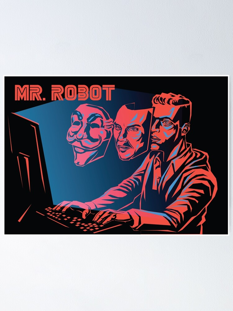 Alternate view of Mr Robot Poster
