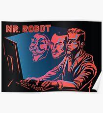 Póster Mr Robot