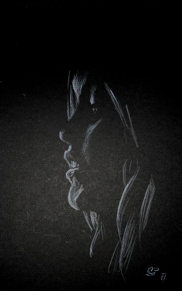 Sketches: White on Black by stevenexMN
