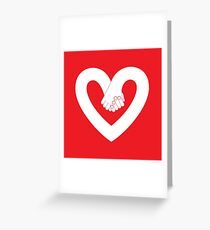 Valentine's day #02 Greeting Card