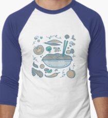 Noodles Men's Baseball ¾ T-Shirt