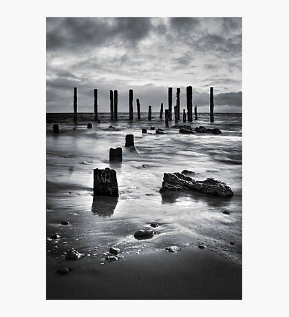 Port Willunga (Black and White) Photographic Print