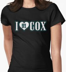 I heart Cox 2 Women's Fitted T-Shirt