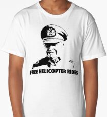 Free Helicopter Rides Long T-Shirt